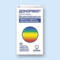 ДОНОРМИЛ, таблетки