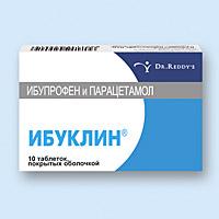 ИБУКЛИН, таблетки