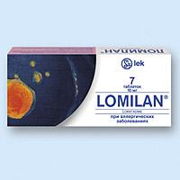 ЛОМИЛАН, таблетки