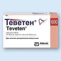 ТЕВЕТЕН, таблетки
