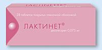 ЛАКТИНЕТ-РИХТЕР, таблетки
