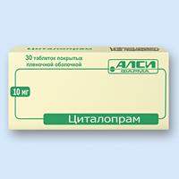 ЦИТАЛОПРАМ, таблетки