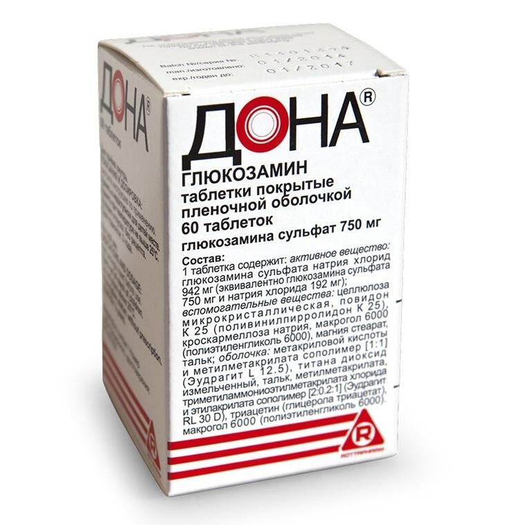 ДОНА, таблетки