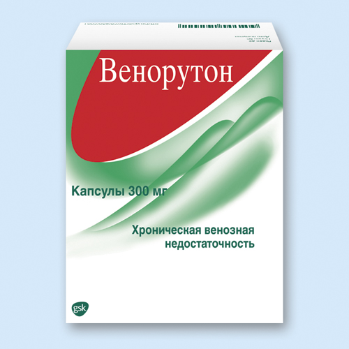 ВЕНОРУТОН, капсулы