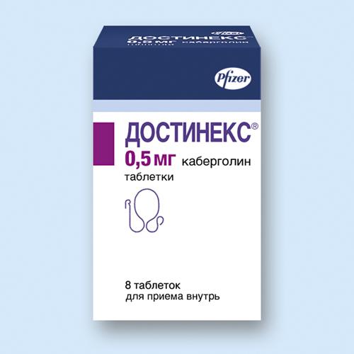 ДОСТИНЕКС, таблетки