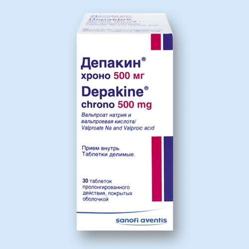 ДЕПАКИН ХРОНО, таблетки