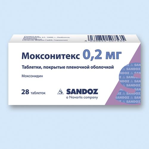 МОКСОНИТЕКС, таблетки