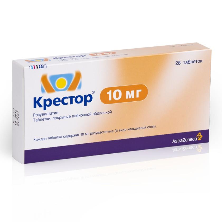 КРЕСТОР, таблетки