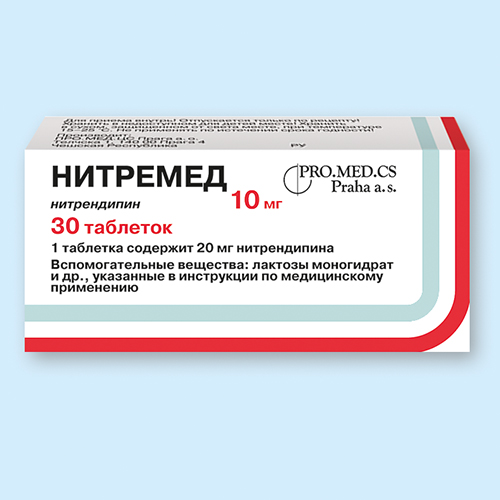 НИТРЕМЕД, таблетки