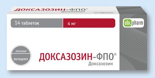 ДОКСАЗОЗИН-ФПО, таблетки