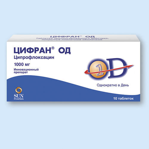 ЦИФРАН ОД, таблетки