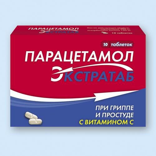 инструкция парацетамол в таблетках 0.5