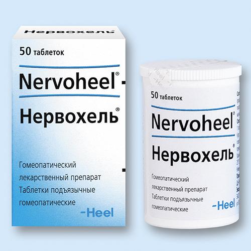 НЕРВОХЕЛЬ, таблетки