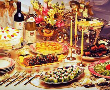 Вредные продукты на праздничном столе