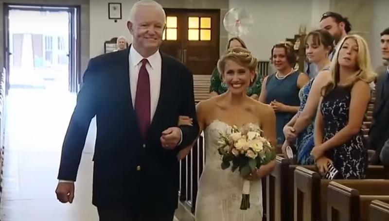 Невесту отвел калтарю мужчина ссердцем ееотца