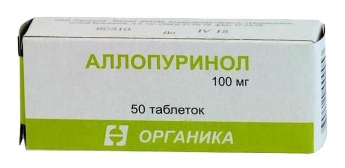 АЛЛОПУРИНОЛ, таблетки