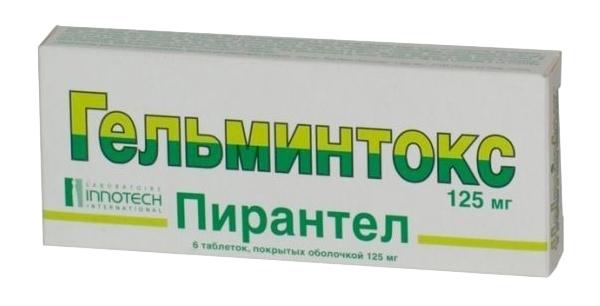 ГЕЛЬМИНТОКС, таблетки