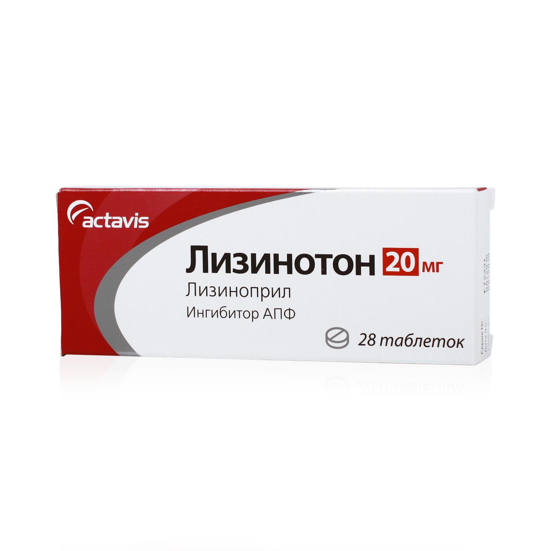 ЛИЗИНОТОН, таблетки