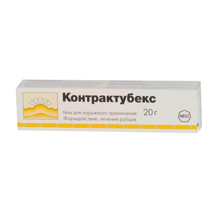 КОНТРАКТУБЕКС, гель
