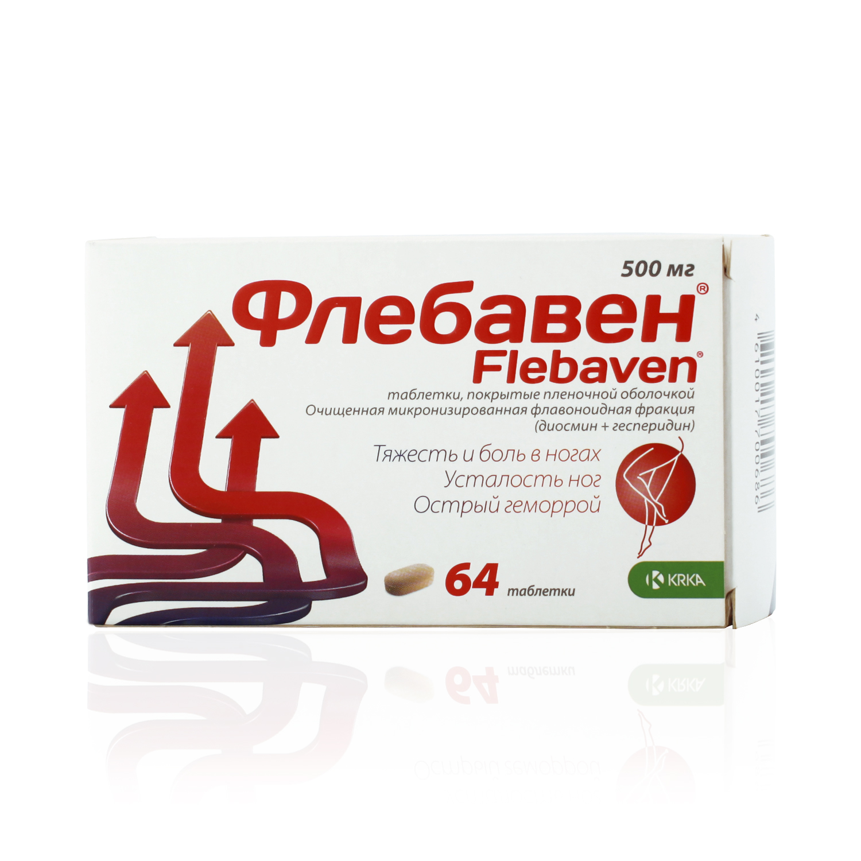 ФЛЕБАВЕН, таблетки