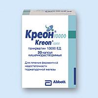препарат креон инструкция по применению
