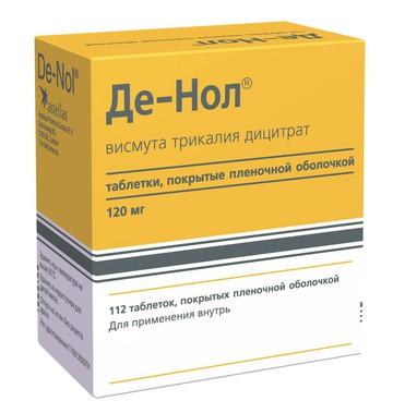 инструкция таблеток де-нол img-1