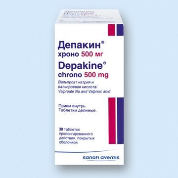 Таблетки Депакин Хроно отзывы инструкция по применению