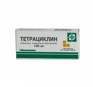 Инструкция по применению тетрациклина в таблетках