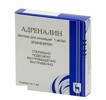 Эпинефрин инструкция по применению аналоги