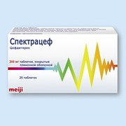 СПЕКТРАЦЕФ, таблетки
