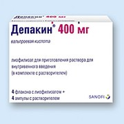 ДЕПАКИН, лиофилизат