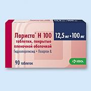 ЛОРИСТА H 100, таблетки