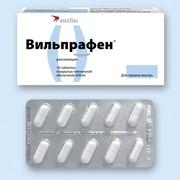ВИЛЬПРАФЕН, таблетки