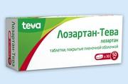 ЛОЗАРТАН-ТЕВА, таблетки
