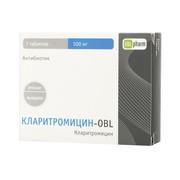 КЛАРИТРОМИЦИН-OBL, таблетки