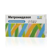 МЕТРОНИДАЗОЛ, таблетки